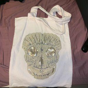 Handbags - Skull Tote Bag medium sized